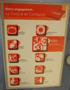 Os 10 itens do contrato de confiança comunicado na vitrine